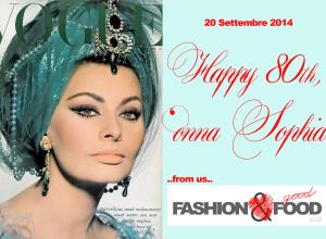 Happy 80th, 'Onna Sophia!