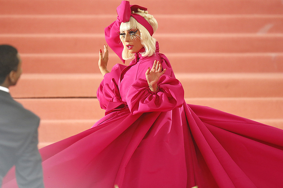 NEW YORK, NEW YORK - MAY 06: Lady Gaga attends The 2019 Met Gala Celebrating Camp: Notes on Fashion at Metropolitan Museum of Art on May 06, 2019 in New York City. (Photo by John Lamparski/Getty Images)