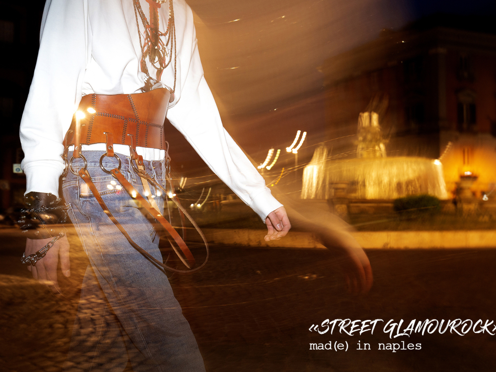«STREET GLAMOUROCK»:  Mad(e) in Naples